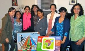 April 2013, Umbrella sponsors a women's nutrition class for local area women.